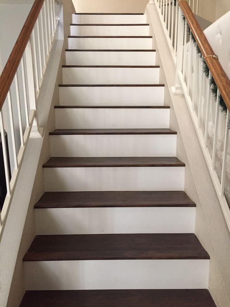 Photo Of DPS Flooring   Phoenix, AZ, United States. Stairs With White Risers