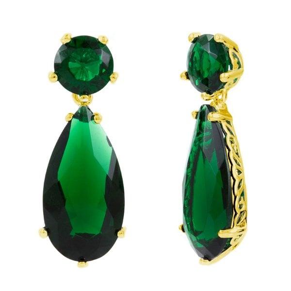 Photo Of Emitations San Go Ca United States Faux Emerald Drop Earrings