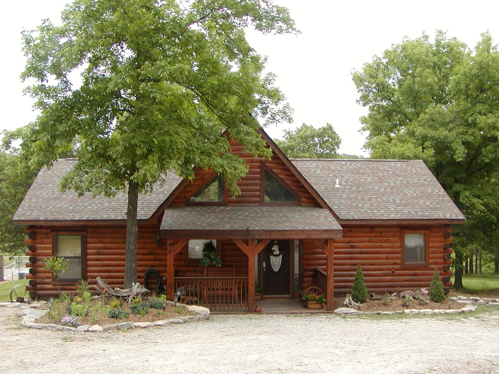 Awesome 2 3 bdr log cabins near branson for nightly or for Vacation log homes