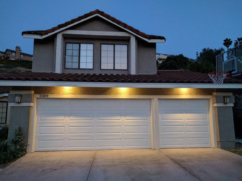 Garage Door Downlights
