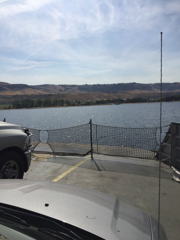Keller Ferry and Rest Area: 45938 WA-21, Wilbur, WA
