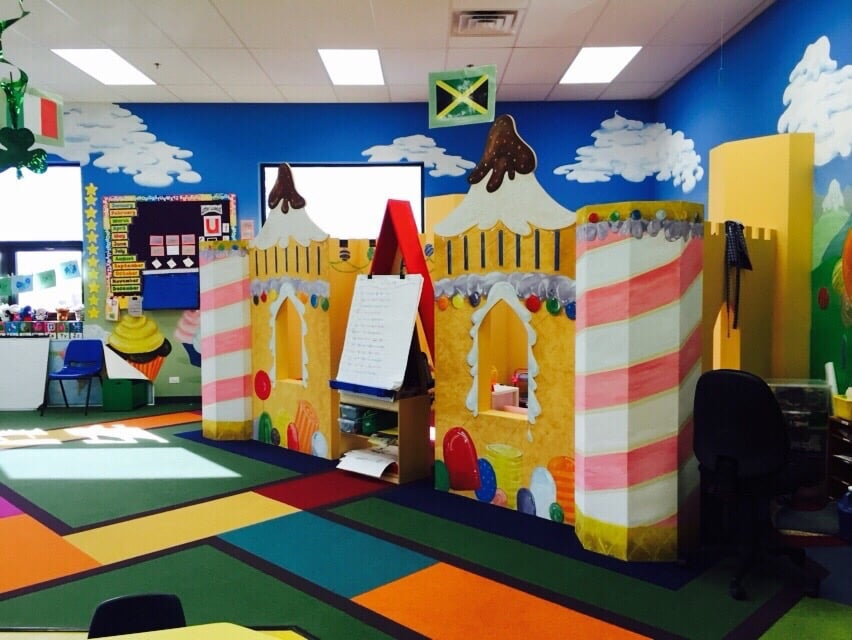 Candy themed preschool room yelp for Candy themed bedroom ideas