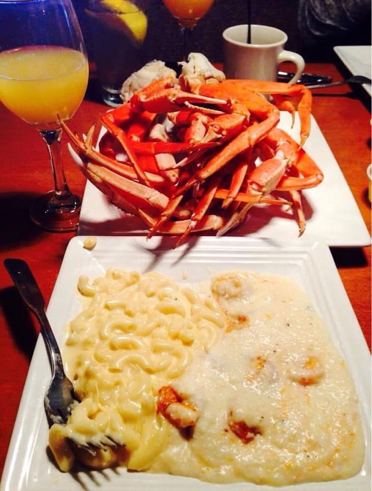 My usual sunday brunch shrimp grits mac cheese and for City fish oldsmar
