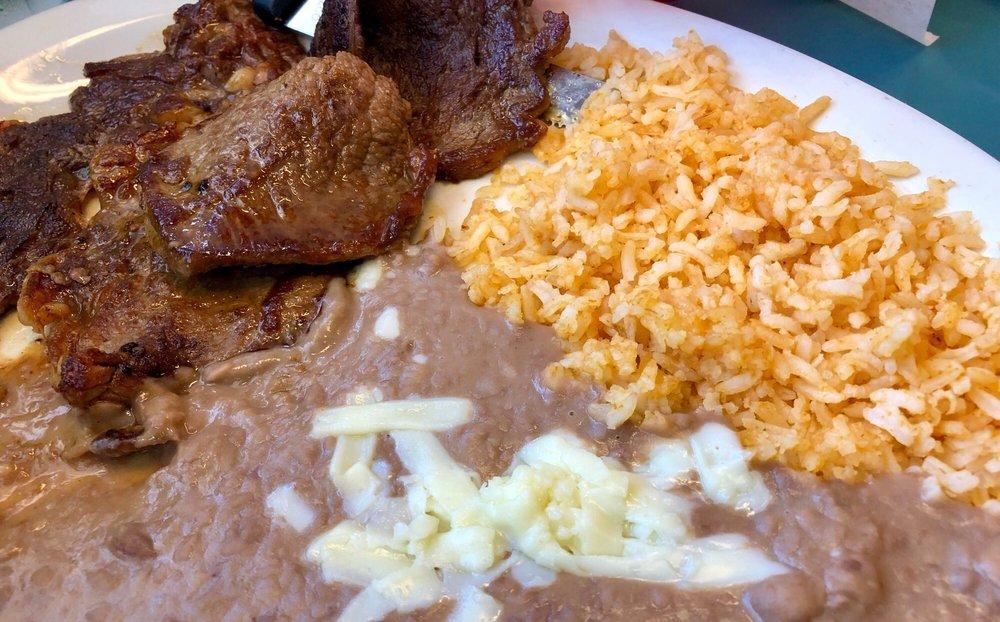 Food from El Gallo Mexican Restaurant