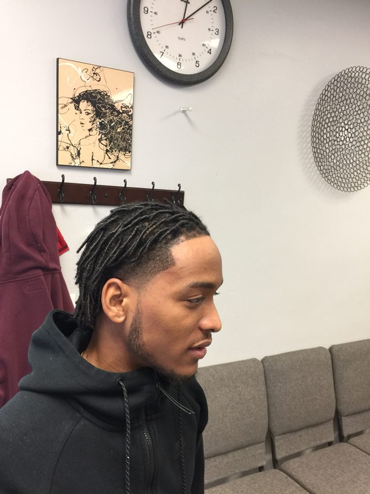 Starter Locs With Taper Fade Yelp