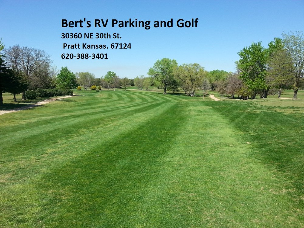 Bert's RV Park and Golf: 30360 NE 30th St, Pratt, KS