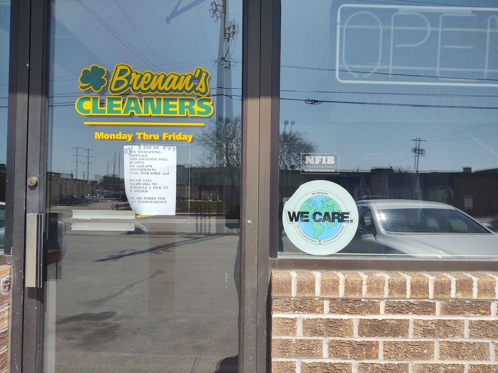 Brenan's Drycleaning & Laundry: 1201 1st Ave N, Fargo, ND
