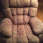This Sofa Is Photo Of Mike S Furniture Warehouse Roland Ok United States Custom Recliners Available