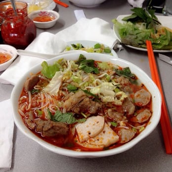 Photo Of Saigon Kitchen   Fair Lawn, NJ, United States. Spicy Beef Noodle