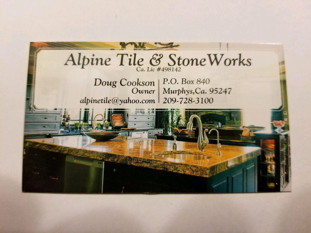 Alpine Tile And Stone Works: 2693 Shirewood Ln, Arnold, CA