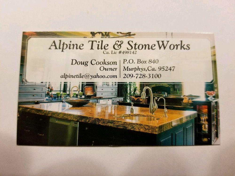 Alpine Tile & Stone Works: 3398 E Hwy 4, Murphys, CA