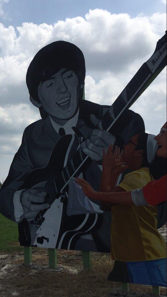 George Harrison Mural: Benton, IL