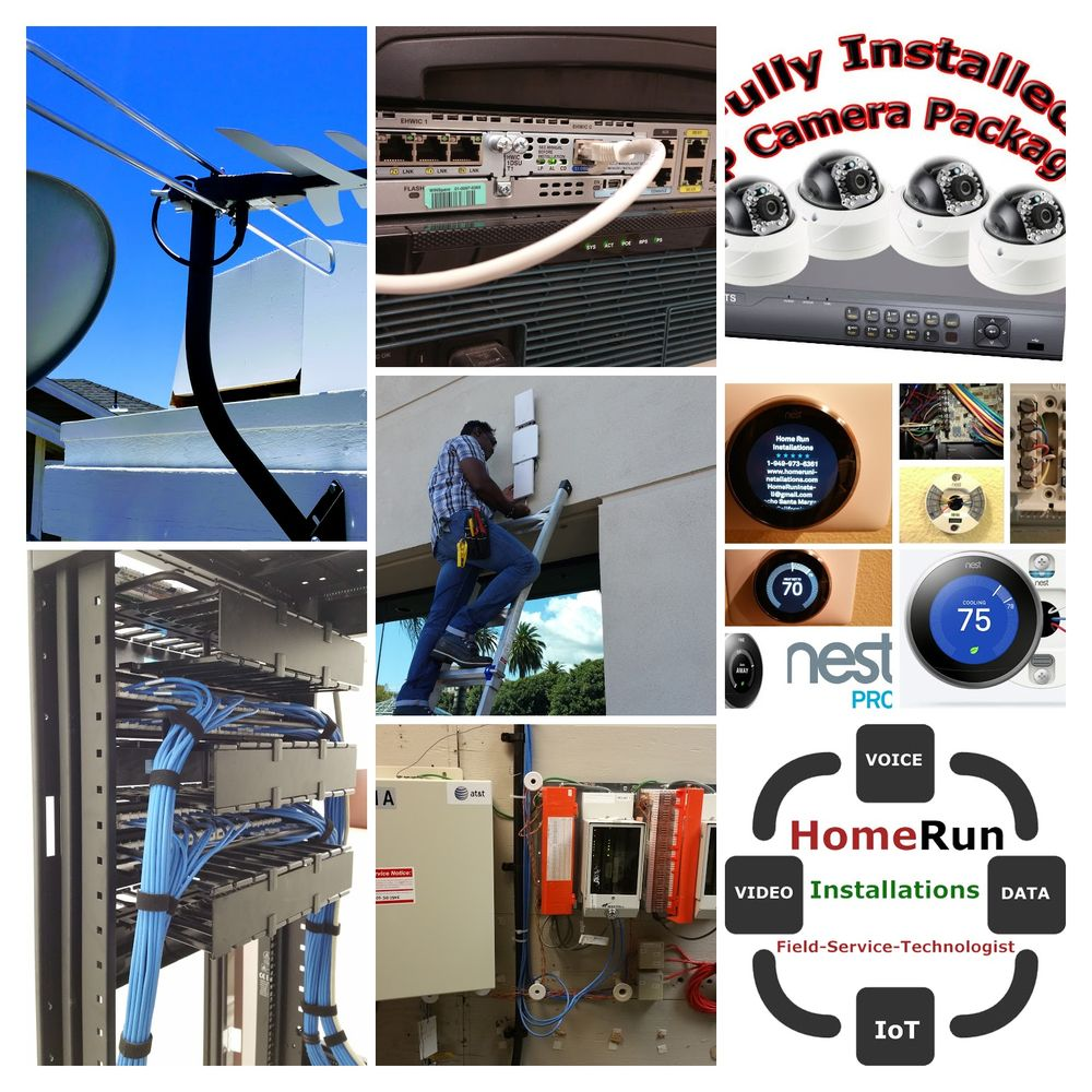 Home Run Installations Get Quote Telecommunications Rancho Cable Wiring Santa Margarita Ca Phone Number Yelp