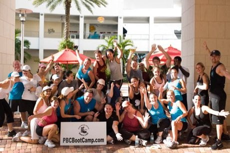 palm beach county boot camp personal trainers 1401 old