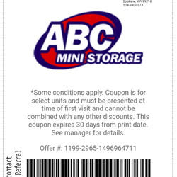 Photo Of Abc Mini Storage Spokane Wa United States