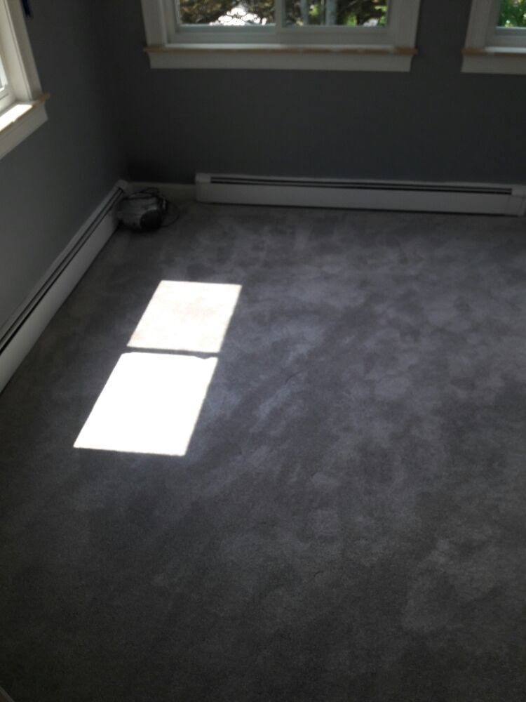 Carpet Installed Over A Ceramic Tile Floor Cover Up In A 3 Season
