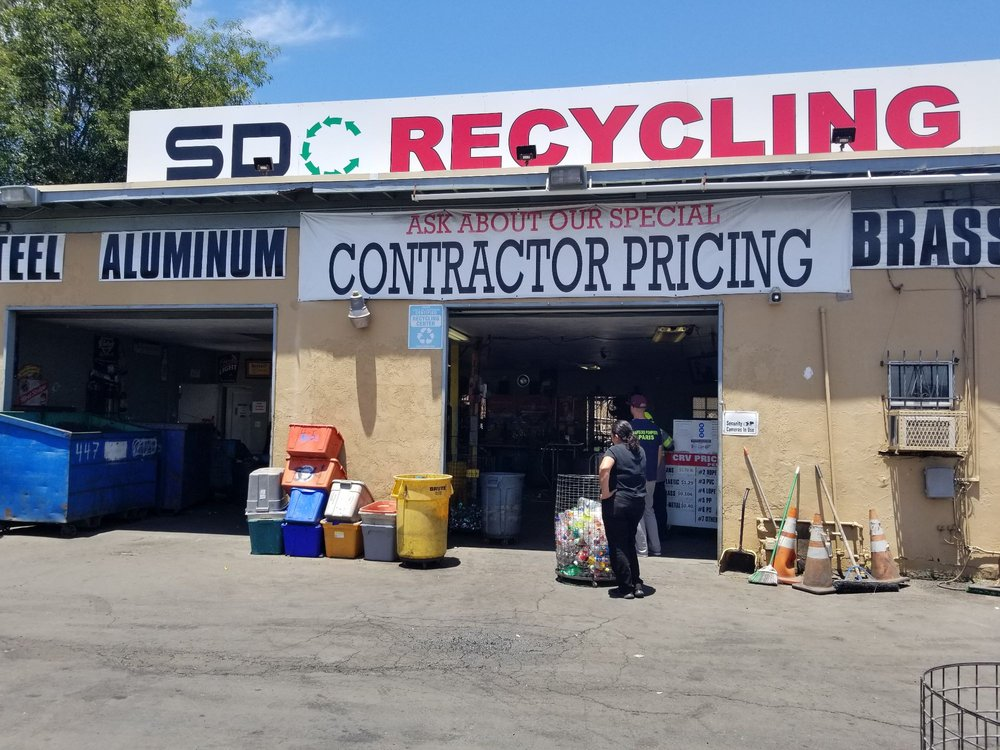 San Diego County Recycling: 3974 Spring Dr, Spring Valley, CA