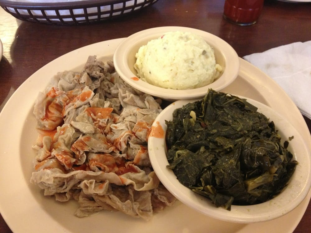 how to cook chitterlings with potatoes