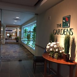 Photo Of Gardens Restaurant State College Pa United States Entrance From Hotel