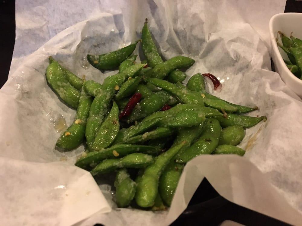 Spicy Edamame Finger Lickin Good Yelp