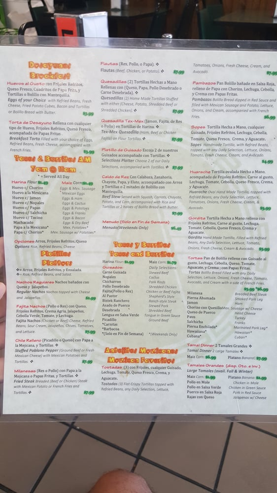 Azteca Mexican: 1021 N Main St, Baytown, TX