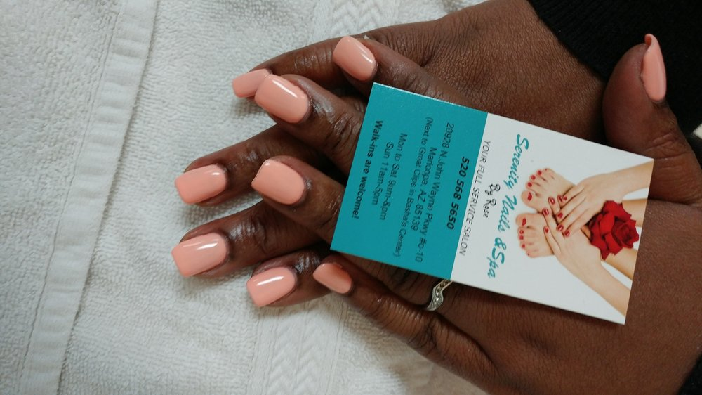 Serenity Nails & Spa By Rose: 20928 N John Wayne Pkwy, Maricopa, AZ