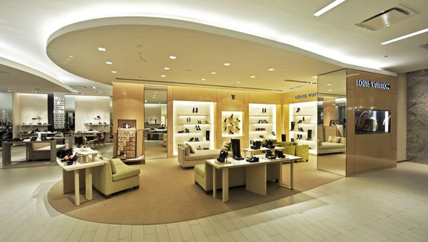 9621c9f3b35 Louis Vuitton New York Saks Fifth Ave Shoe Salon - Leather Goods ...