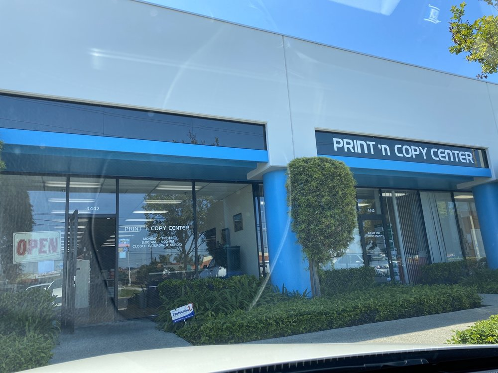 Print N Copy Center: 4442 Cerritos Ave, Los Alamitos, CA