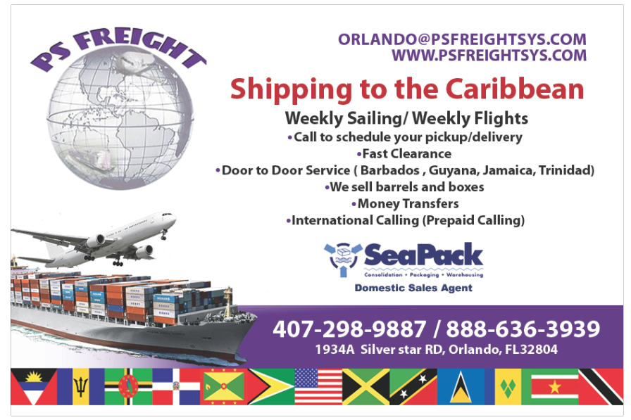 PS Caribbean Freight Systems/Shop2Go - Shipping Centers
