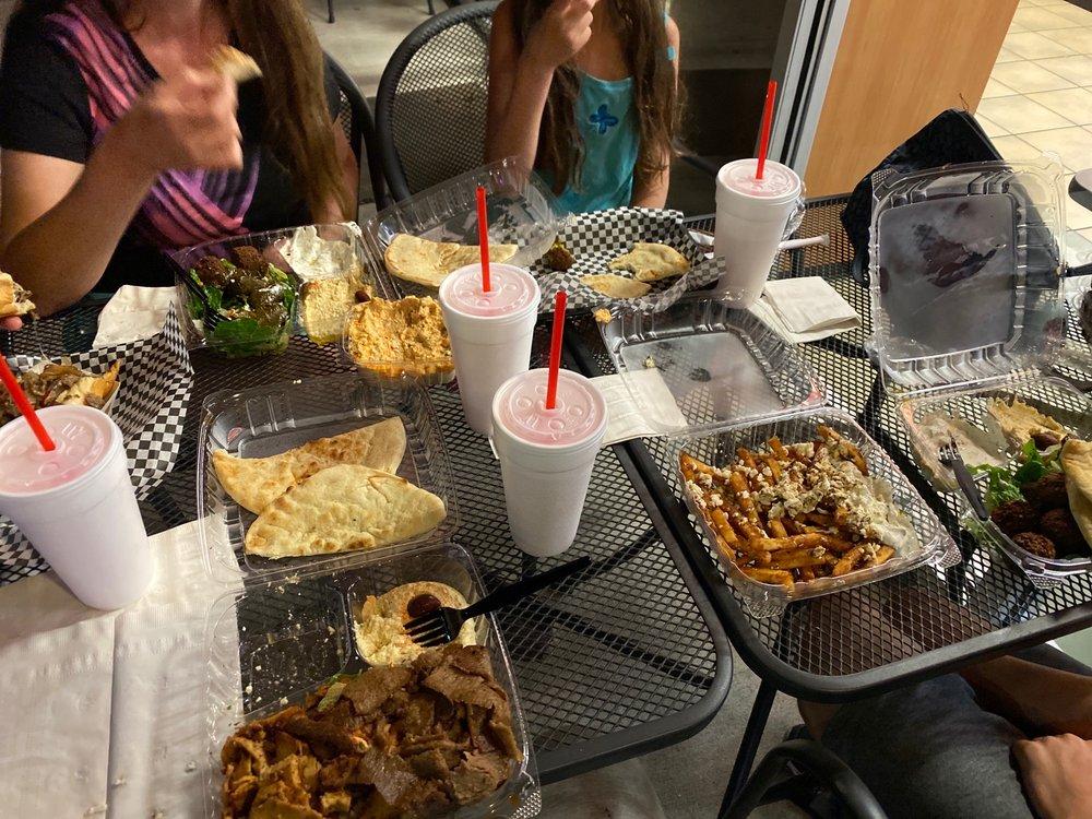 Zorbas Gyros Burgers And More: 1812 W Pinhook Rd, Lafayette, LA