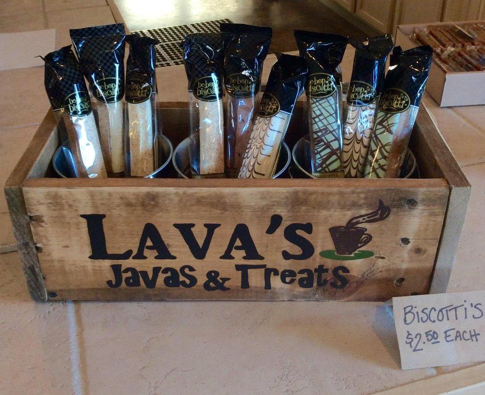 Lava's Javas & Treats: 518 N Cliff Ave, Harrisburg, SD