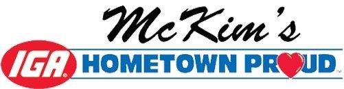 McKim's Iga: 1320 Main St, Mount Vernon, IN