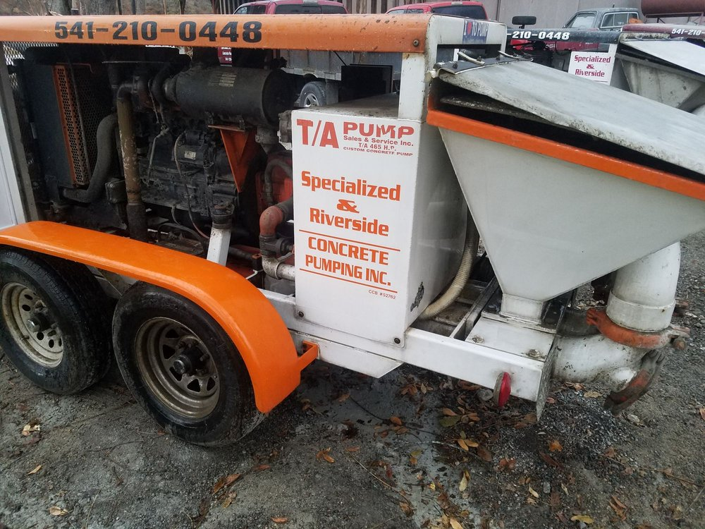 Specialized Concrete Pumping: Eagle Point, OR
