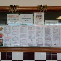 Photo Of Peking Kitchens   Weymouth, MA, United States. The Menu Window