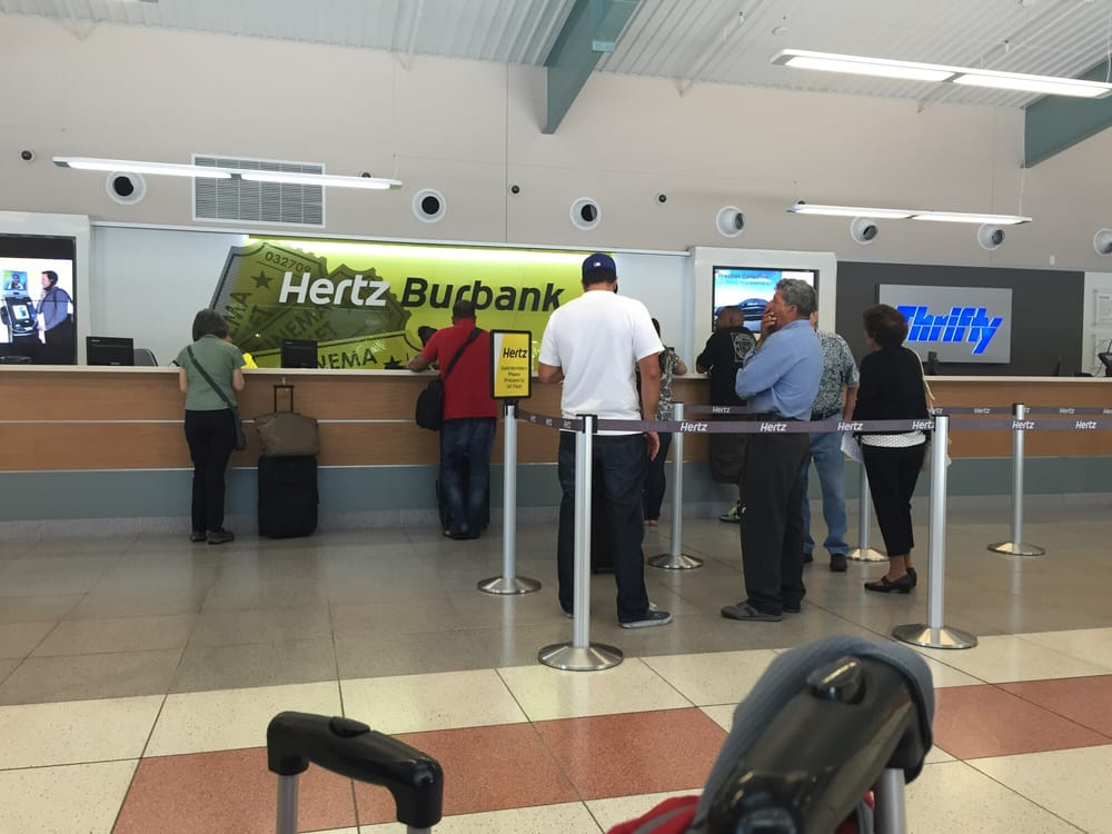 Hertz Car Rental In Burbank Ca