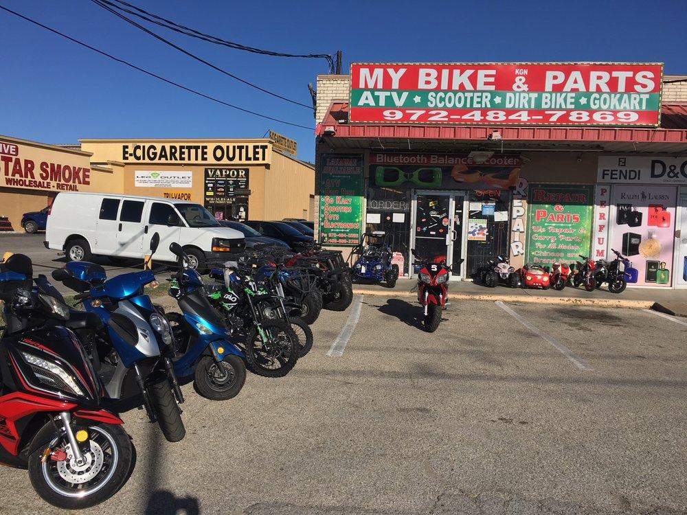 My Bike & Parts: 11390 Harry Hines Blvd, Dallas, TX
