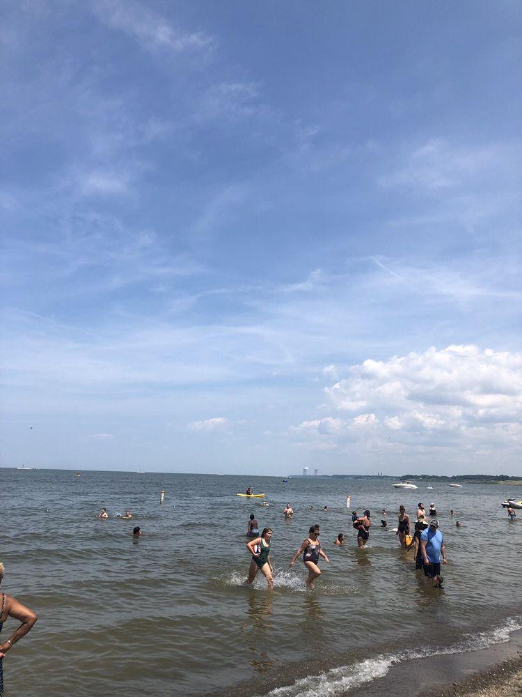 Social Spots from Fairport Harbor Lakefront Park Beach
