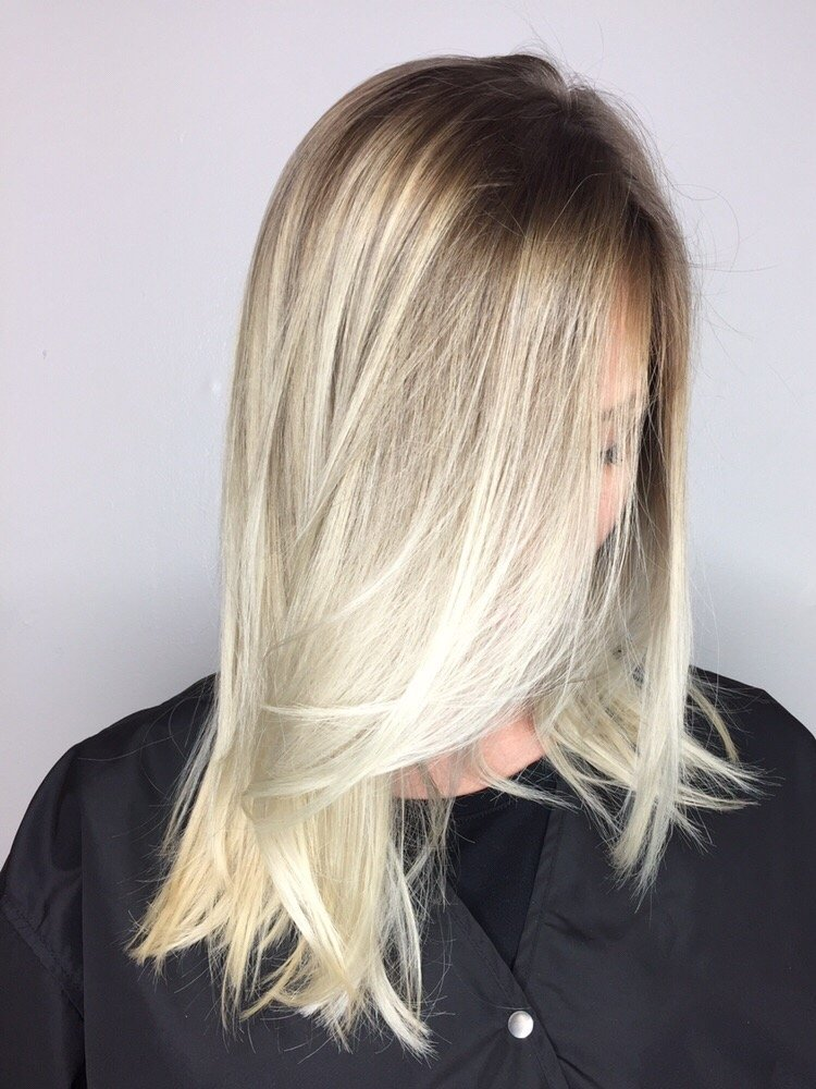 Shadow Root With Platinum Blonde Ends Yelp