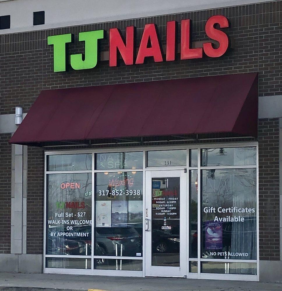 TJ Nails: 341 W Northfield Dr, Brownsburg, IN