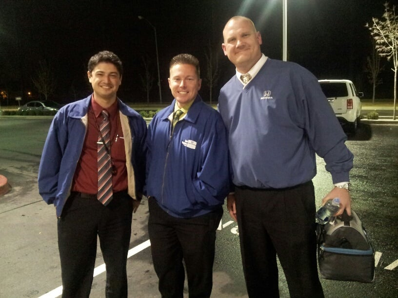 The team alex jesse and kyle yelp for Mel rapton honda sacramento ca