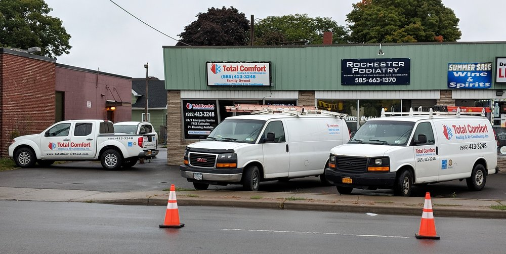 Total Comfort Heating And Air Conditioning: 2892 Dewey Ave, Rochester, NY