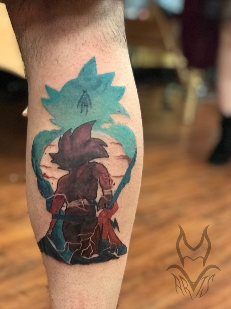 Dragon Ball Z Tattoo Done By Red Yelp