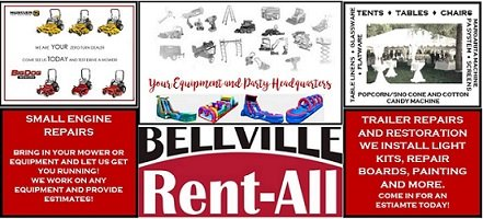 Bellville Rent-All: 726 E Mill St, Bellville, TX