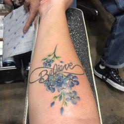268887e15554b Photo of Ventura Tattoo - Ventura, CA, United States. Forget Me Not flowers  ...