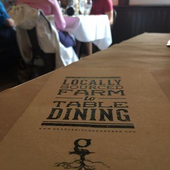 Grange Kitchen And Bar Ann Arbor