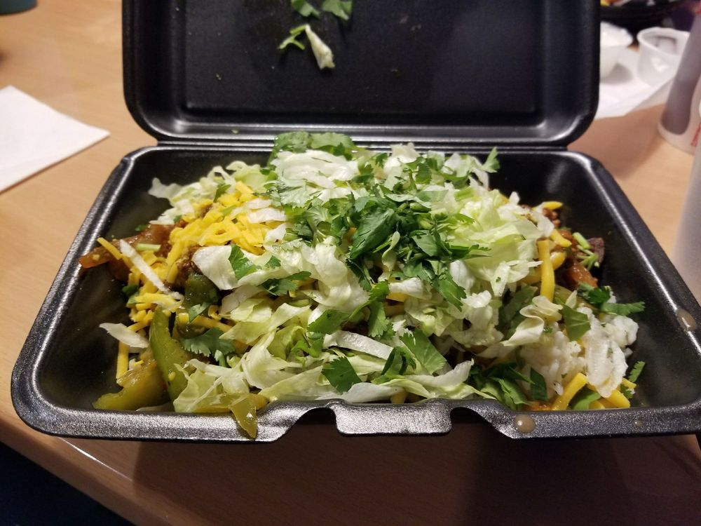 Food from Salsa St Mexican Grill