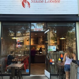 Photo Of Cousins Maine Lobster Restaurant West Hollywood Ca United States View