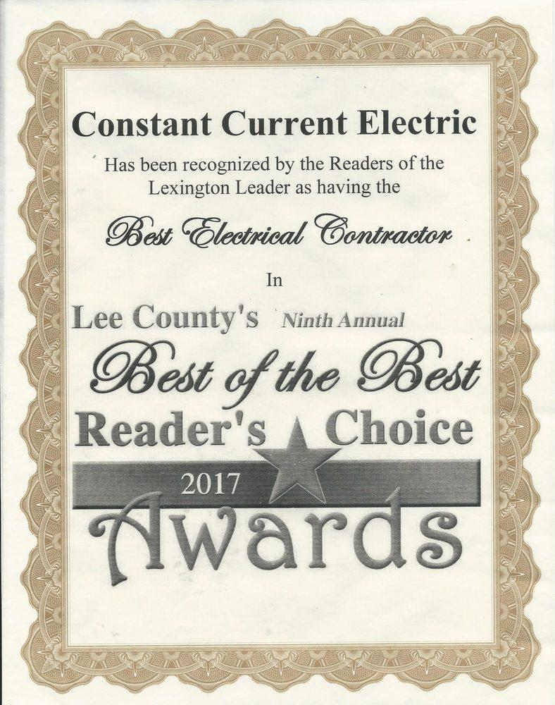 Constant Current Electrical Services: Lexington, TX