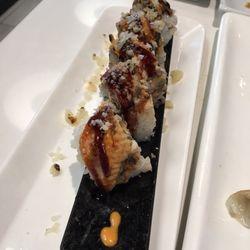 Fried Dragon Roll Sakana Grill - ...