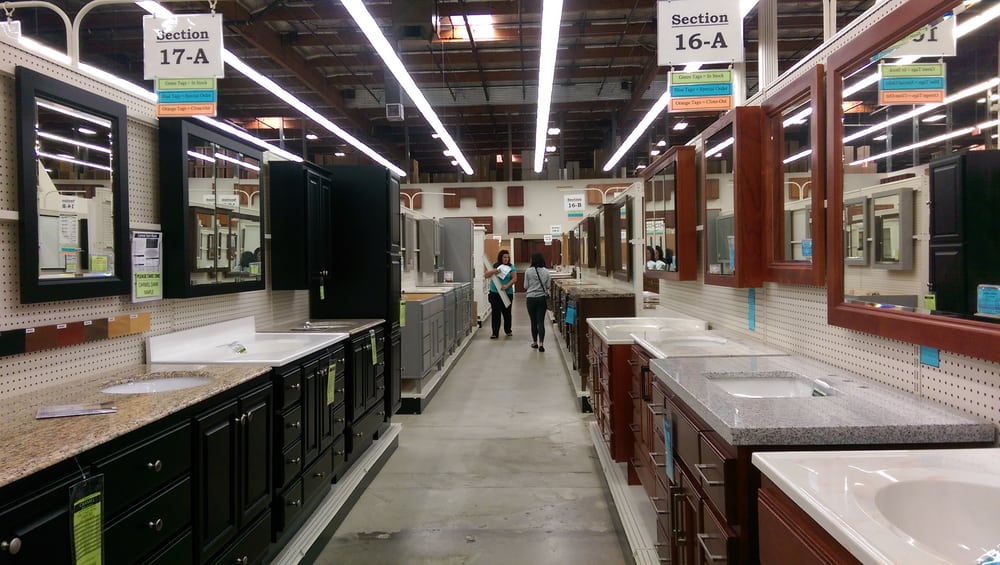 Large selection of bathroom vanity yelp - Bathroom cabinets builders warehouse ...